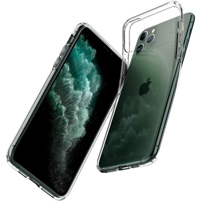 Spigen Liquid Crystal Back Cover for iPhone 11 Pro - Crystal Clear- Best iPhone 11 Pro Cover