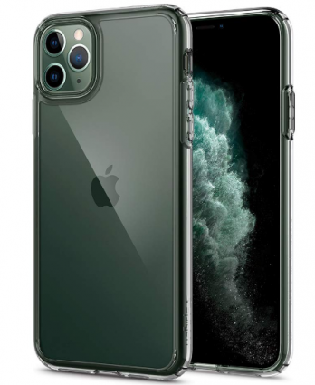 Spigen Ultra Hybrid Back Cover for iPhone 11 Pro Max - Crystal Clear: Best iPhone 11 Pro Max Cover