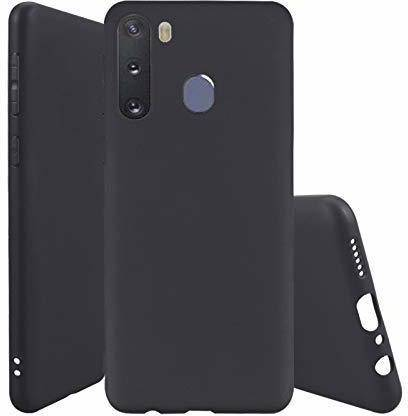 ValueActive Back Cover (Black, Shock Proof, Silicon): best cover for samsung m11