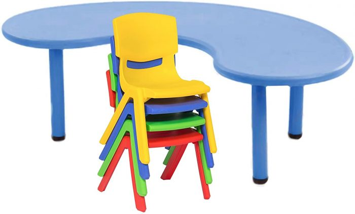 eHomeKart Playgro Table - (54 x 30 x 20-inches, Assorted Colour): Best Study Table For Kids In India