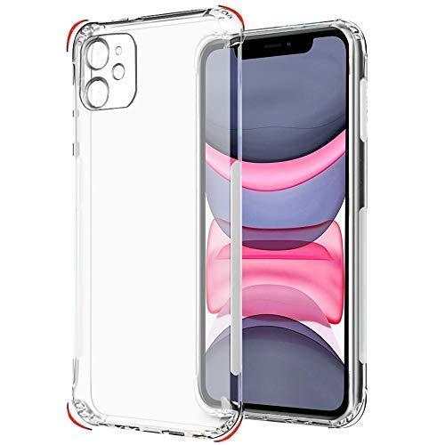 iPhone 11 Transparent Case Bumper Protection Edges