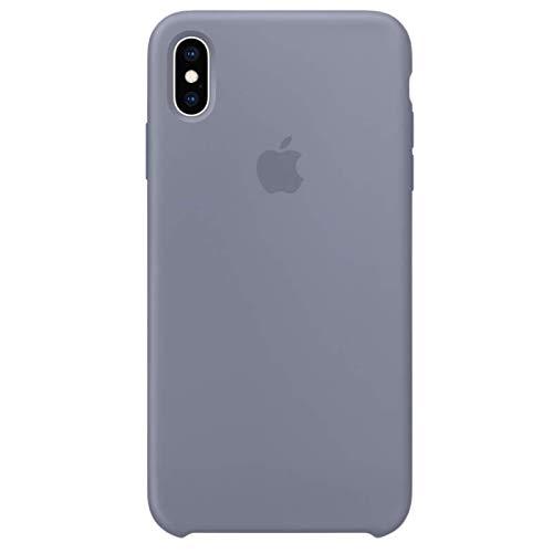 iPhone X Premium Silicone Cases (Lavender Gray)