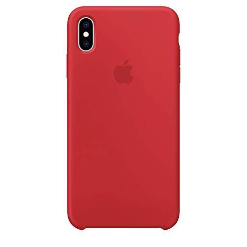 iPhone X Premium Silicone Cases (Red)