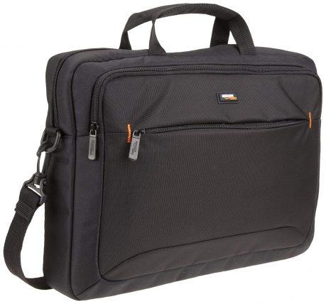 AmazonBasics 15.6-inch Tablet and Laptop Bag, Black: Laptop Bag