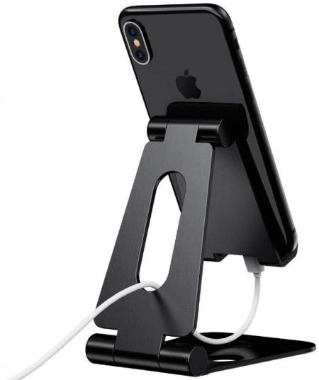ELV Aluminum Adjustable Mobile Phone Foldable Holder Stand Dock Mount: Best Tablet Stand