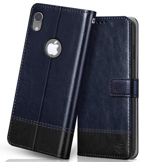 FLIPPED Vegan Leather Cover: iPhone Xr Cover