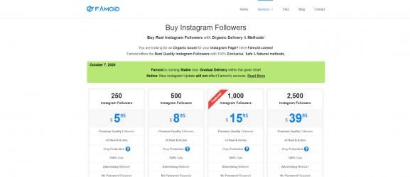 Famoid - get more instagram followers