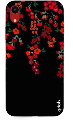 Floral Deco Case: iPhone Xr Cover
