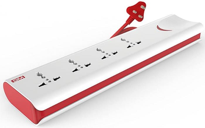 GM 3060 E-Book 4 + 1 Power Strip: Best Extension Board