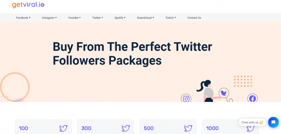 Getviral.io - Twitter Follower