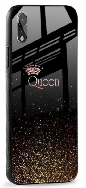 I Am The Queen Glass case: iPhone Xr Cover