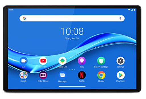 Lenovo Tab M10 FHD Plus - best tablet under ₹20000 Available In India (2020)