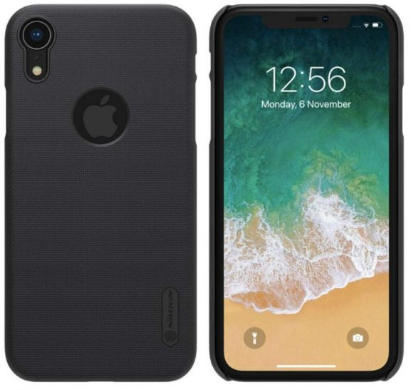 Nillkin Frosted Shield Hard Back Cover ( Black): iPhone Xr Cover