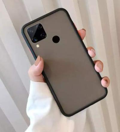 Realme C 15 Dual Layer Back Cases: Realme C15 Cover