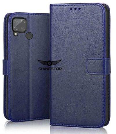 Shinestar Flip Case: Realme C15 Cover