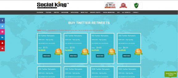 Social Kings - Twitter Follower