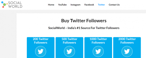 Social World - Twitter Follower