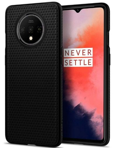 Spigen Liquid Air Back Cover Case Designed for OnePlus 7T - Matte Black: Best OnePlus 7T Cover