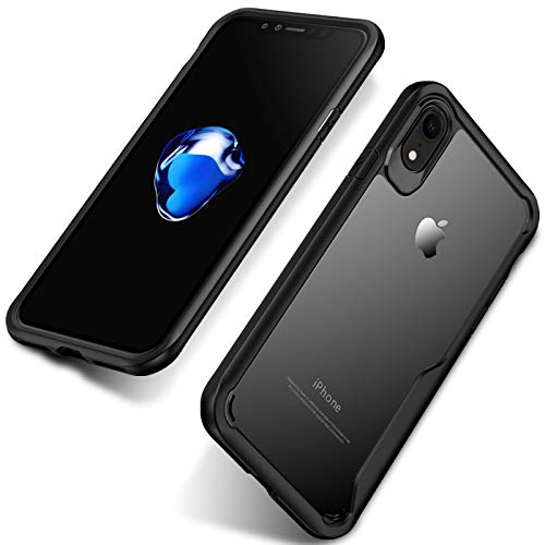 Tarkan Fusion Protective Back Case Cover (Black): iPhone Xr Cover