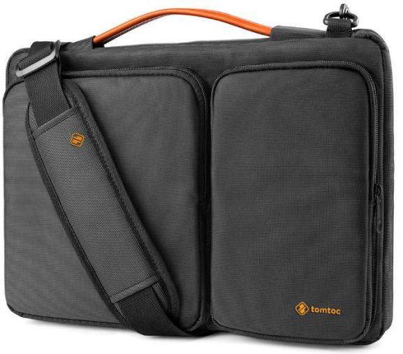 Tomtoc 15.6 Inch Laptop and tablet Shoulder Bag: Laptop Bag
