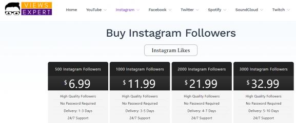Views Expert - buy instagram followers