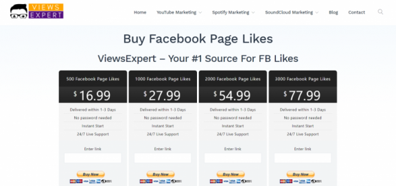 Views Expert - buy facebook likes & Followers