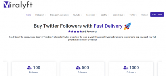 Viralyft Twitter Followers