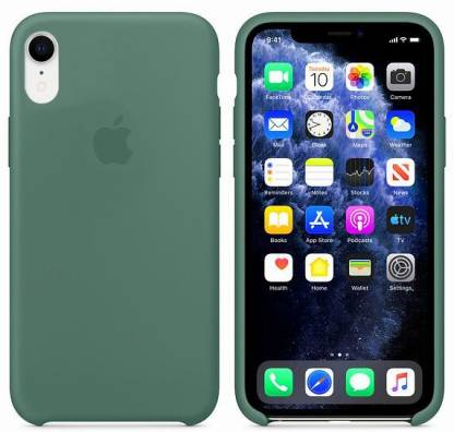 Yofashions Back Cover (Green, Silicon): iPhone Xr Cover