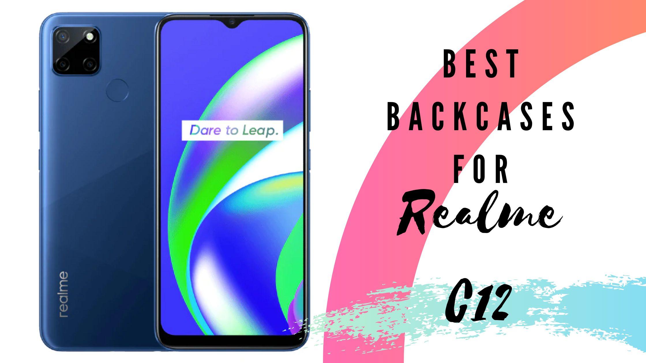 best back cases for realme c 12