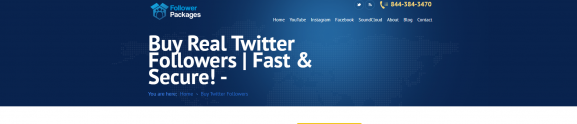 followers packages - Twitter Follower
