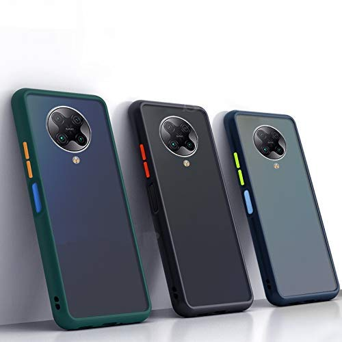 ANVIKA Smoke Back Cover Case: Back Case for Redmi Poco X2