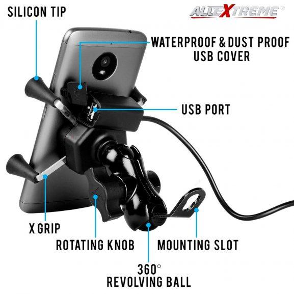 All Extreme Mobile Holder: Mobile Holder for Scooty