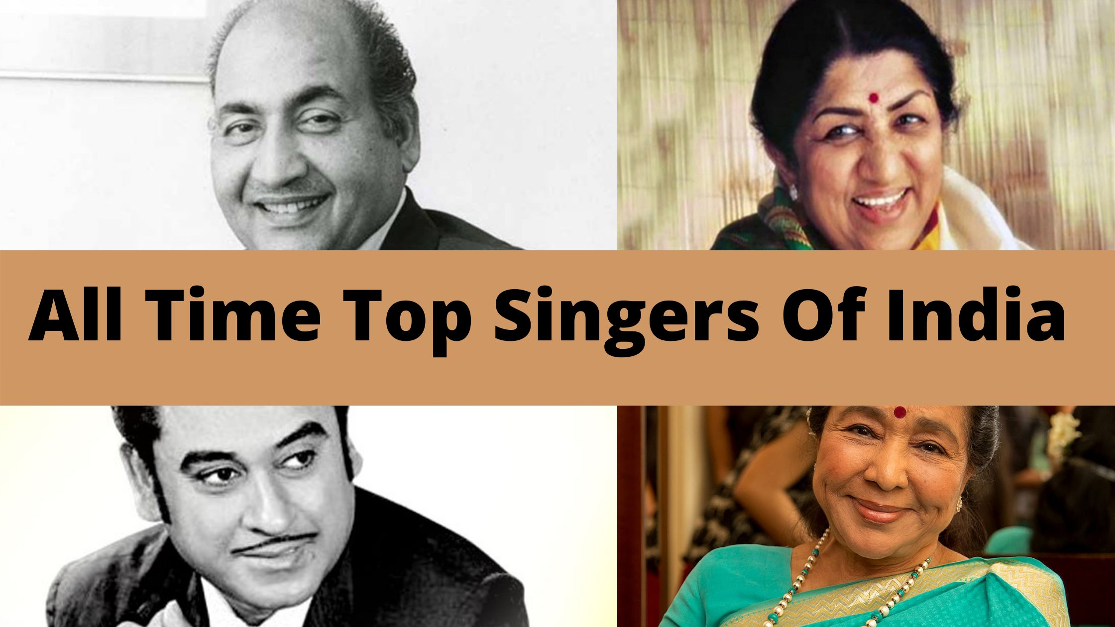All Time Top Singers Of India