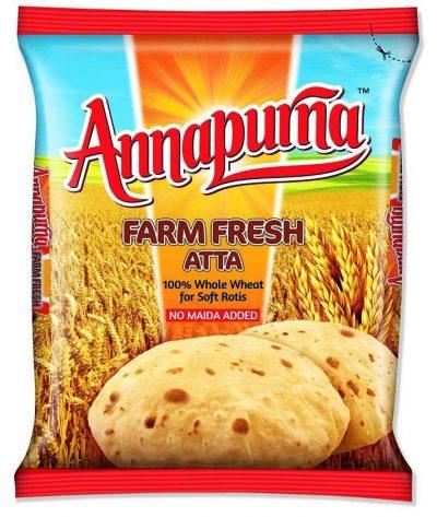Annapurna Farm Fresh Atta: Atta Brand