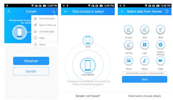 CLONEit: Mobile Cleaner App