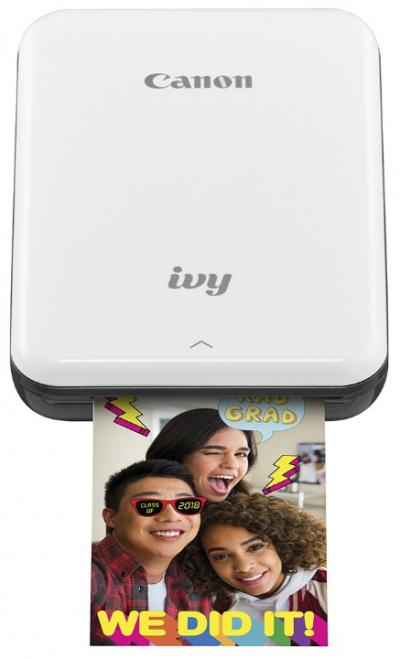 Canon Ivy Wireless Bluetooth Mobile Printer: Portable Photo Printer