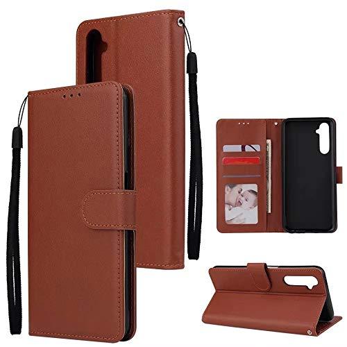 Dervin Flip Cover for Realme 6 Pro PU Leather