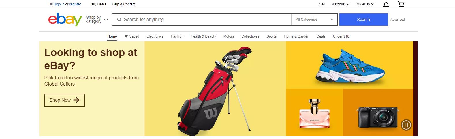 In.Ebay.com: E-Commerce Website