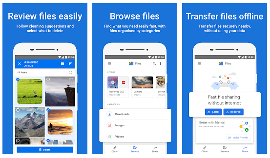 Files by Google: Mobile Cleaner App