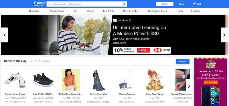 Flipkart.com: E-Commerce Website