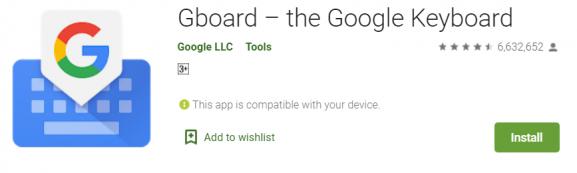 Gboard - Best keyboard app