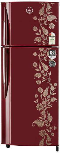 Godrej 255 L 2 Star Double Door Refrigerator: Refrigerator Under 20,000