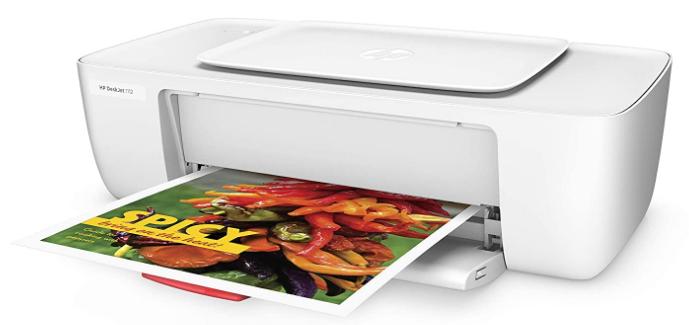 HP DeskJet 1112 Single Function Inkjet Colour Printer: Printer