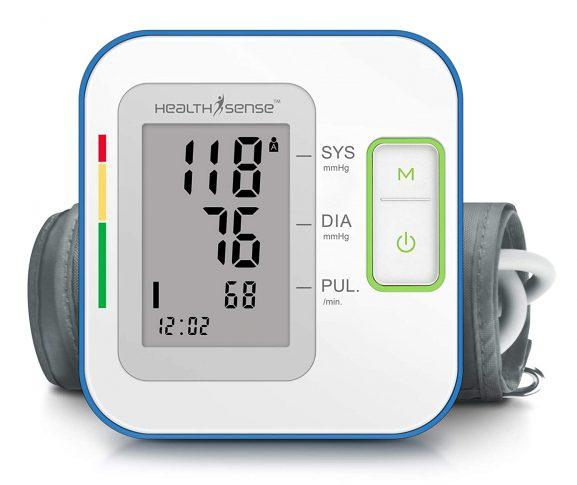 HealthSense Digital Talking Blood Pressure Monitor Machine: Blood Pressure Monitor
