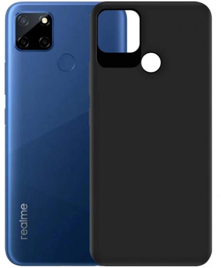 Hupshy Soft TPU Back Cover: Realme C12 Case