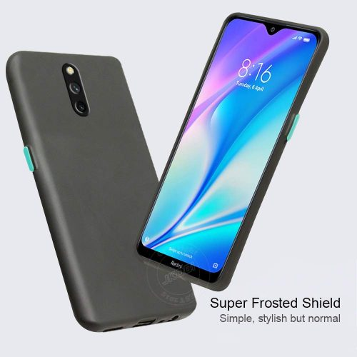 Jkobi Case with Color Buttons: Redmi 8A Dual Back Cover