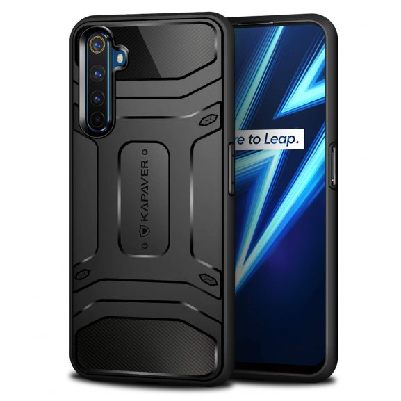 KAPAVER Rugged Back Covers for Realme 6 Pro