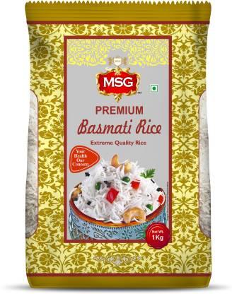 MSG BASMATI RICE: Rice Brand