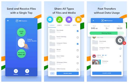 MX ShareKaro: Mobile Cleaner App