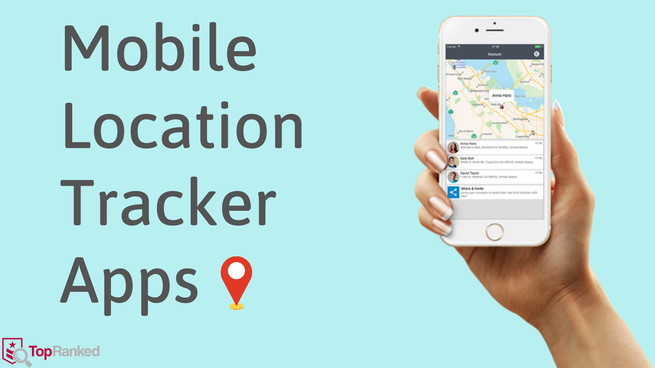 Best Mobile Location Tracker Apps